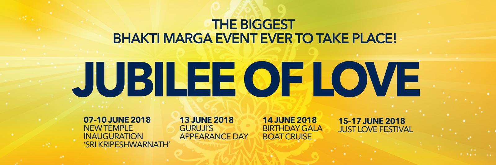 JubileeOfLove-BhaktiMarga