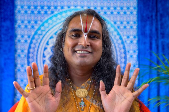 Online darsan pozehnanie september 2020 Paramahamsa Vishwananda