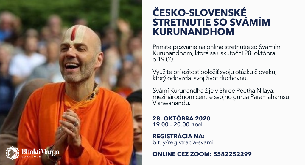 Swami Kurunandha stretnutie po darsane