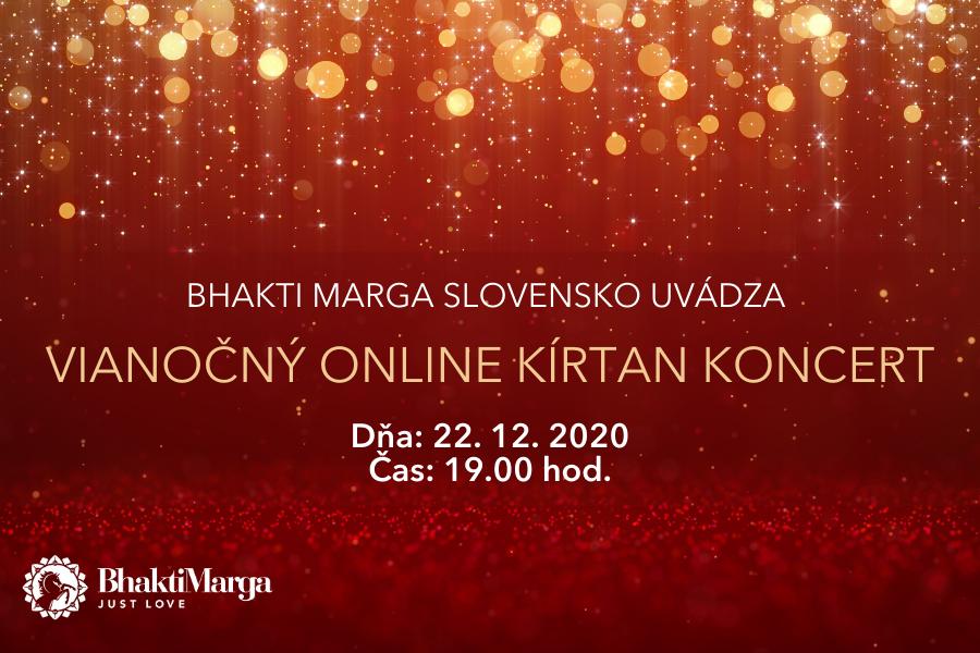 ianočný online Kirtan koncert 2020